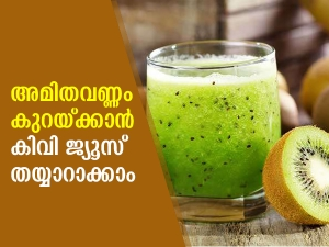 Kiwi Juice Recipe In Malayalam