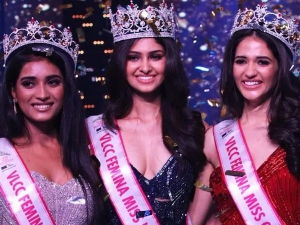 Manasa Varanasi From Telangana Was Crowned The Winner Of Miss India 2020