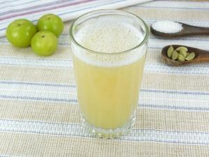 Gooseberry Ginger Detox Health Drink Recipe