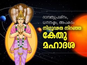 Ketu Mahadasha Bad Effects And Remedies In Malayalam