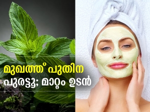 Mint Face Pack For Glowing Skin