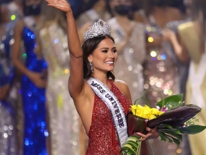 Miss Universe 2021 Winner Miss Mexico Andrea Meza Crowned As The Winner