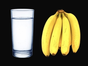 Start Your Day With A Banana And Drink Warm Water To Get Rid Of Belly Fat