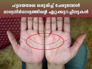 Matching Heart Line In Palms And Nature Of Spouse