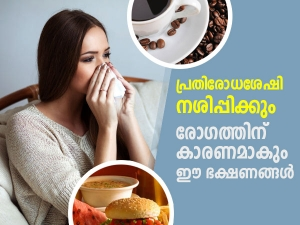 Foods That May Weaken Your Immune System In Malayalam