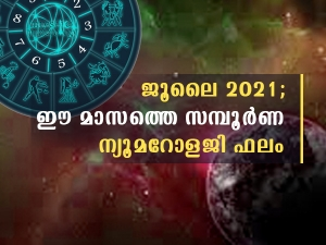 July 2021 Monthly Numerology Predictions In Malayalam