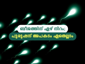 Types Of Sperm Color And How They Affect Male Fertility In Malayalam