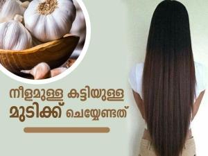 Ways You Can Use Garlic Treat Hair Problems In Malayalam
