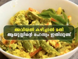 Avial Nutrition Health Benefits And How To Make It In Malayalam