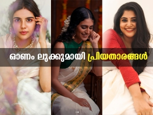 Malayalam Actress Onam Special Traditional Looks