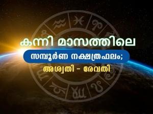 Kanni Month Star Predictions In Malayalam