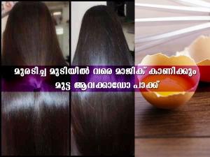 Avocado And Egg Hair Mask For Damaged Hair