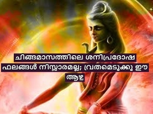 Importance And Significance Of Shani Pradosham In Chingam