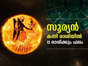 Sun Transit In Virgo On 17 September 2021 Effects On Zodiac Signs In Malayalam