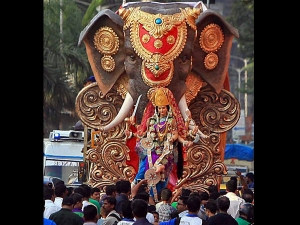 Navratri Day 4 Maa Kushmunda Colour Puja Vidhi Aaarti Timings Mantra Muhurat Vrat Katha
