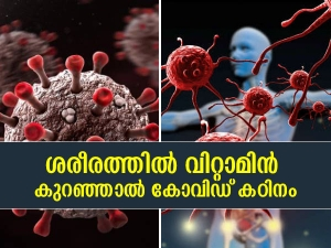How Vitamin Deficiency Can Affect Covid 19 Severity In Malayalam