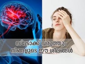 Lifestyle Habits That Can Increase The Risk Of Brain Stroke In Malayalam