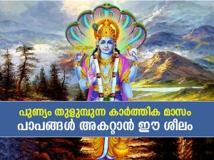 Kartik Month 2021 Reasons Why Kartik Month Is The Holiest Month In Malayalam
